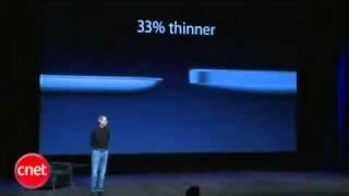 ستيف جوبز يقدم الايباد 2