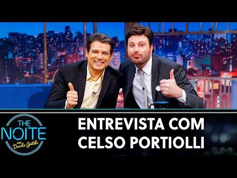 Entrevista com Celso Portiolli   The Noite 180719