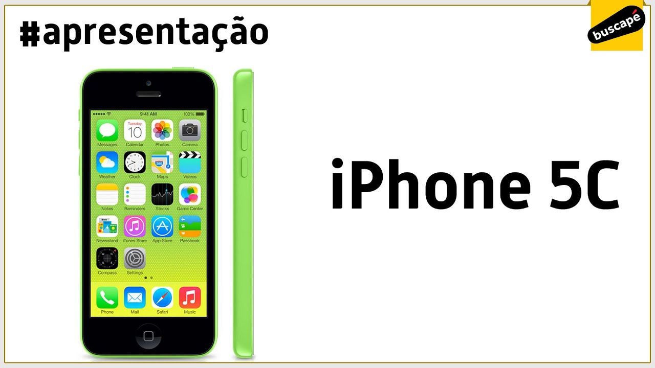 Iphone 5c 8gb Apresentao Youtube