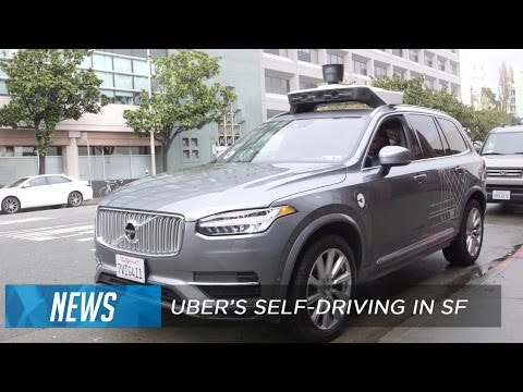 Uber's self-driving cars start picking up riders in San Francisco