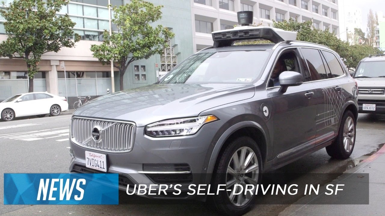 Download Uber's self-driving cars start picking up riders in San Francisco