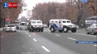 Հանրահավաքին ընդառաջ ոստիկանությունը դիրքավորվում է