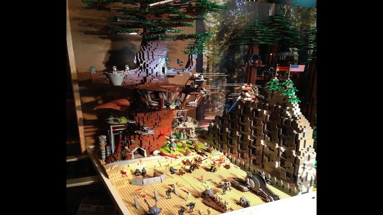 Lego Star Wars Kashyyyk Youtube