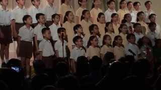 中華基督教會基華小學(九龍塘) 華藝2015 高年級歌詠