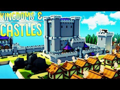 Kingdoms & Castles - Building Our Great Castle! - Rapid Expansion - Kingdoms & Castles Gameplay