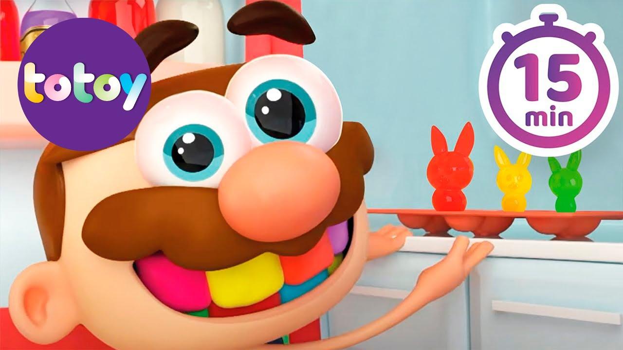 Cuentos Infantiles Totoy kids -  15 Minutos de Historias de José Comilón!!! En Español