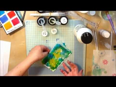 Spectrum Noir Aqua Tints - Salt Technique