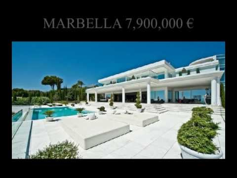 Marbella Mansions showcase luxury Villas for sale Marbella