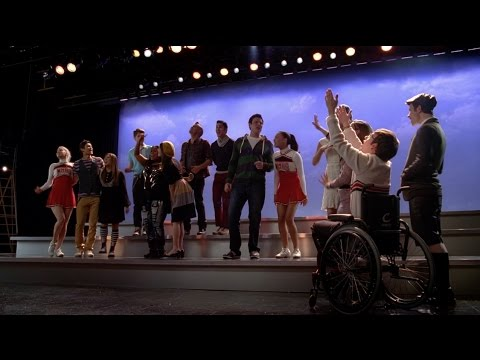 GLEE - We Are Young (Full Performance) HD