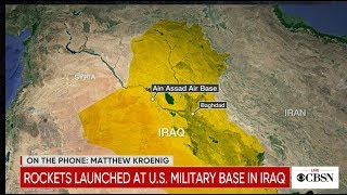 Watch Live: Iran strikes Iraqi military bases home to U.S. troops