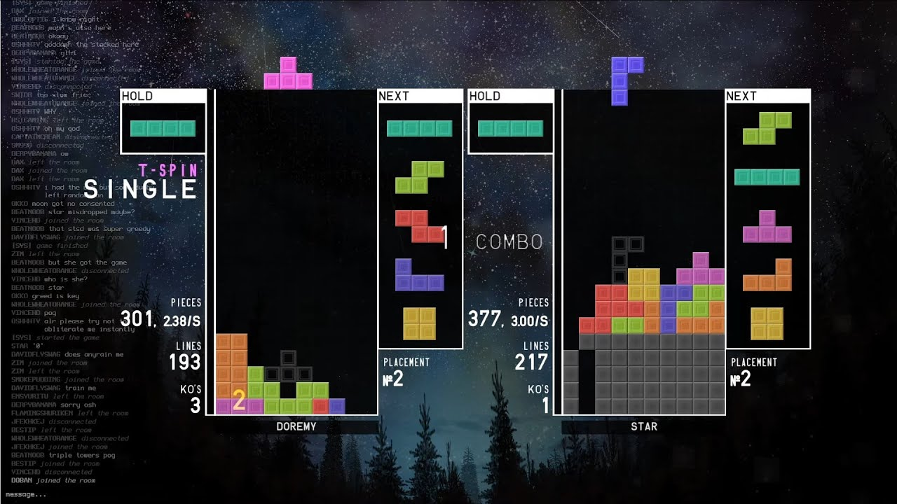 Download [TETR.IO] Quick Play #1: Doremy vs. Star (15-02-2020)