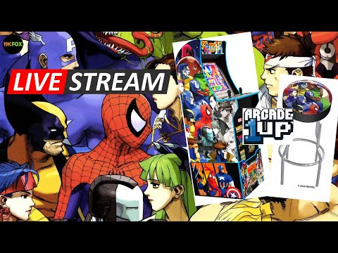 Marvel Vs Capcom Arcade1up Unboxing and Assembly from 19kfox