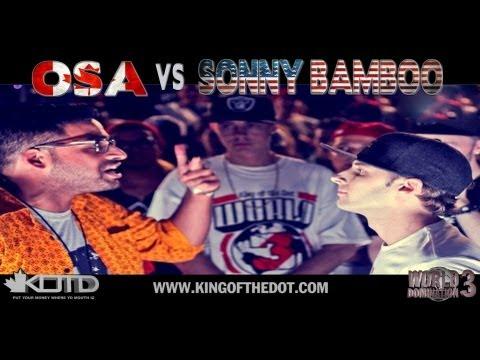 KOTD - Rap Battle - Osa vs Sonny Bamboo | #WD3