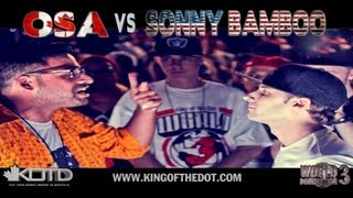 KOTD - Rap Battle - Osa vs Sonny Bamboo (CANADA VS USA)