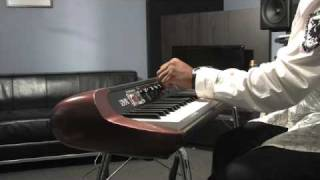 Frank McComb and the Korg SV-1 Stage Vintage Piano