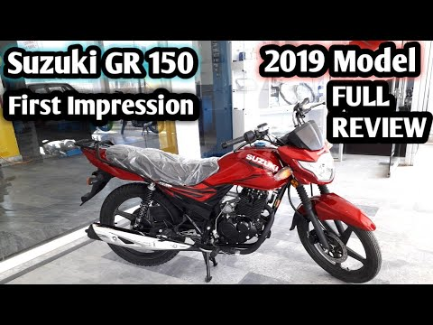 Suzuki Gr 150 | beautiful looking BIKE| 2019 model full review PRICE and  full specification