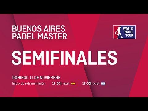 Semifinales - Buenos Aires Padel Master 2018 - World Padel Tour