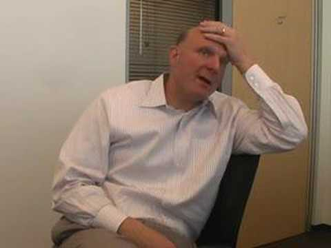 Unedited Interview with Steve Ballmer