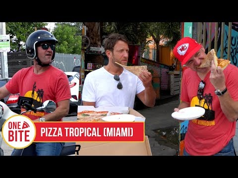 (Clint Bowyer) Barstool Pizza Review - Pizza Tropical (Miami)