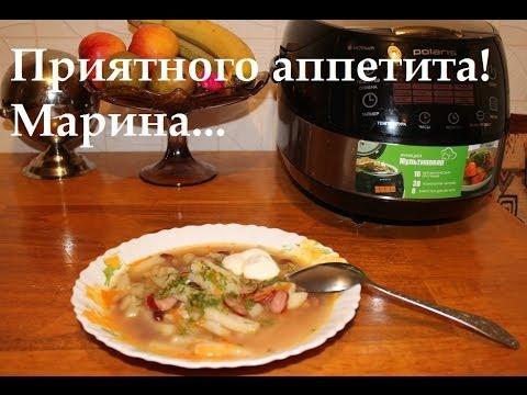 Как сварить суп из консервированной фасоли в мультиварке