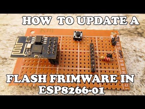 Firmware Update Flash ESP8266 Using Usb To TTL Converter