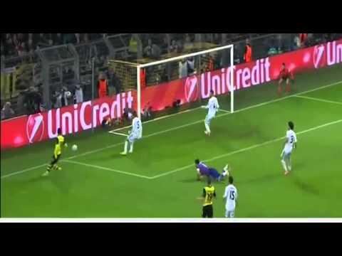 Henrikh Mkhitaryan Missed Goal - Borussia Dortmund vs Real Madrid HD CL 2014
