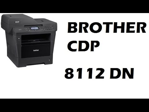 BROTHER DCP-8112DN WINDOWS 8 X64 TREIBER
