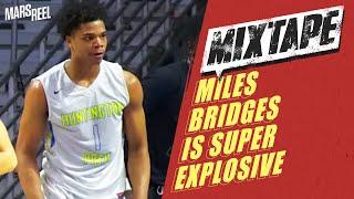"6'6"" Miles Bridges Is SUPER Explosive; Michigan State Commit! | Mars Reel"