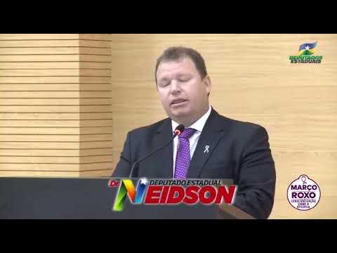 Vídeo: Deputado Dr. Neidson apoia a campanha Março Roxo