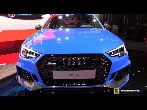 2018 Audi RS4 Avant Exterior and Interior Walkaround Debut at 2017 Frankfurt Auto Show