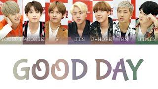Download BTS (방탄소년단) - Good Day Color Coded Lyrics