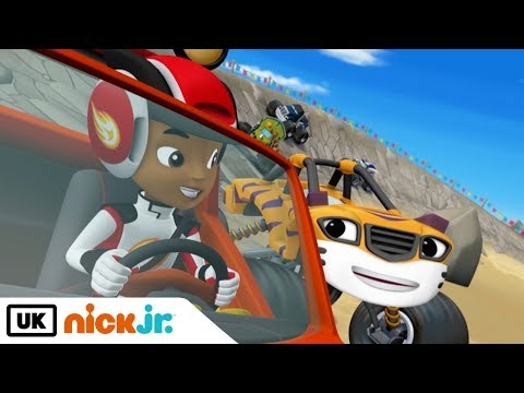 Blaze and the Monster Machines | Race to the top of the World | Nick Jr. UK