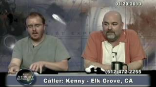 Matt Dillahunty - Idiot claims he can proof the young earth theory - Atheist Experience