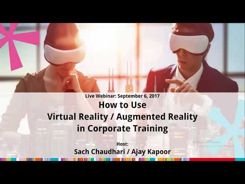 Paradiso Webinar - Using Virtual & Augmented Reality in Corporate Training
