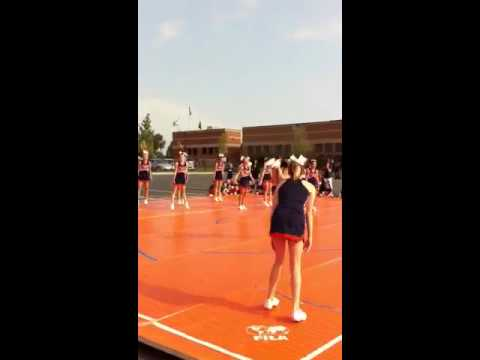 Hershey middle school cheerleading