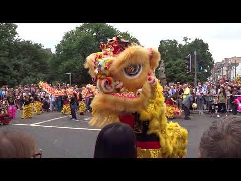 Week 27: 2018 Edinburgh Jazz & Blues Festival - Carnival - The full parade