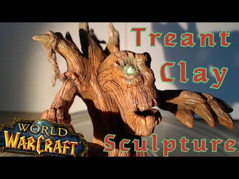 World of Warcraft Treant sculpture