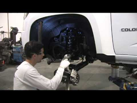 2015 chevy colorado cl227pa leveling kit - youtube  youtube