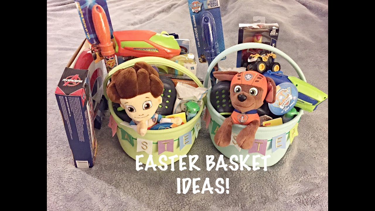 Whats in my toddlers easter baskets boys 2016 youtube whats in my toddlers easter baskets boys 2016 negle