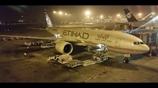 Etihad Airways A330 Amsterdam to Abu Dhabi Full Flight