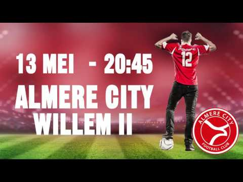 Playoffs Almere City FC - Willem II