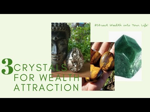 3 CRYSTALS FOR WEALTH & MONEY ATTRACTION | Crystals For Beginners | Wealth + Abundance + Success