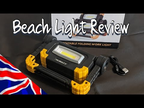 UK Sea Fishing Beach Light Review