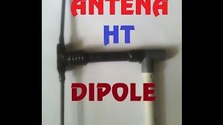 34.Antena HT DIPOLE Sederhana