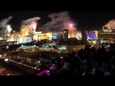 New Year 2012 Las Vegas - Rooftop At Rio Voodoo Lounge