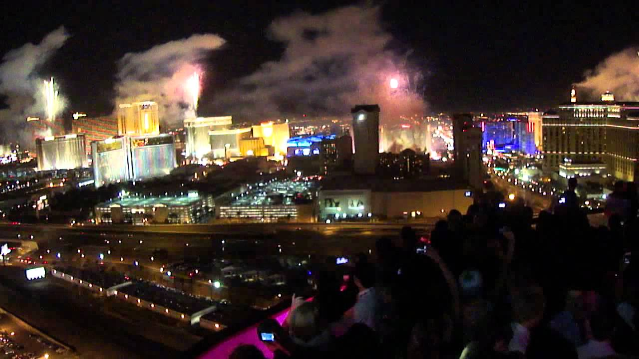 New Year 2012 Las Vegas - Rooftop At Rio Voodoo Lounge ...