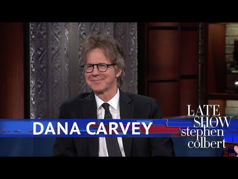 "Stephen Colbert vs. Dana Carvey Replays Clips of ""The Dana Carvey Show"""