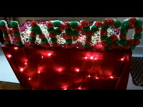 How To Make Floral Letters | DIY Floral Alphabet/Number for Birthday/Anniversary