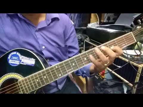 Aankh Hai Bhari Bhari Guitar Tab Lesson.(Intro + Solo Lesson)