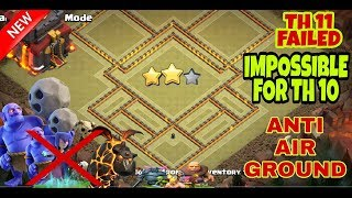 COC TH10 (Town Hall 10) War Base Anti Everything || TH10 WAR BASE ANTI 3 STAR || CLASH OF CLANS